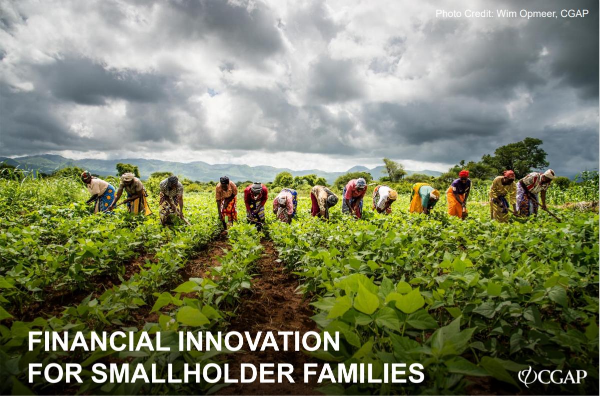 CGAP_ Presentation Financial Innovation For Smallholder Families Cover