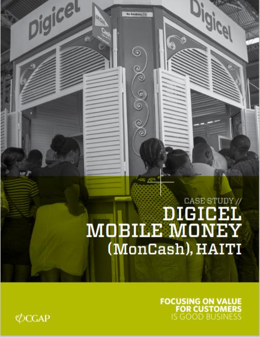 CGAP_Case Study Haiti Digicel Mobile Money Cover