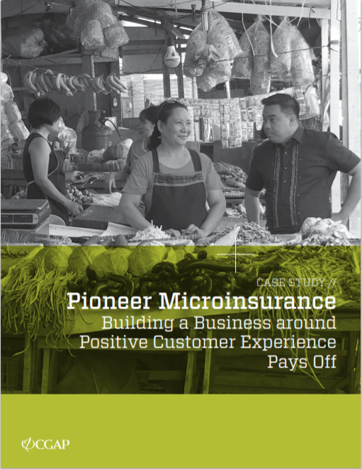 CGAP_Case Study Philippines Pioneer Microinsurance Cover