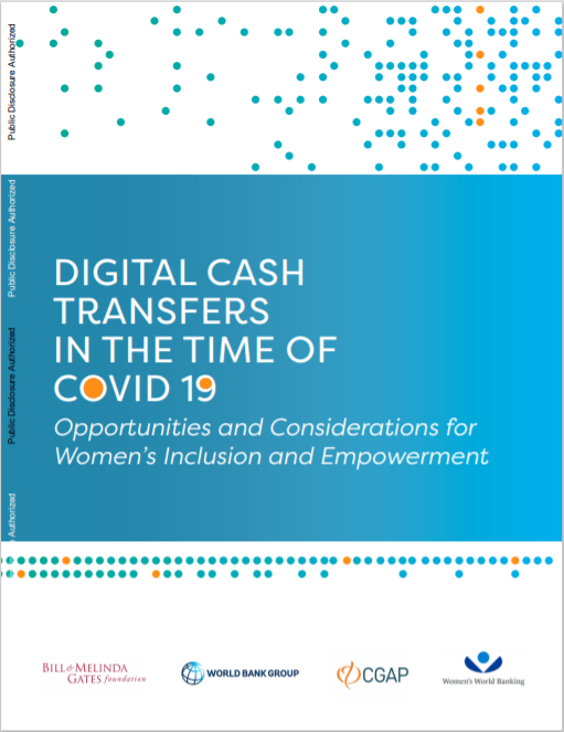 CGAP_Digital Cash Transfers In Times Of COVID-19 Opportunities For Womens Inclusion Cover