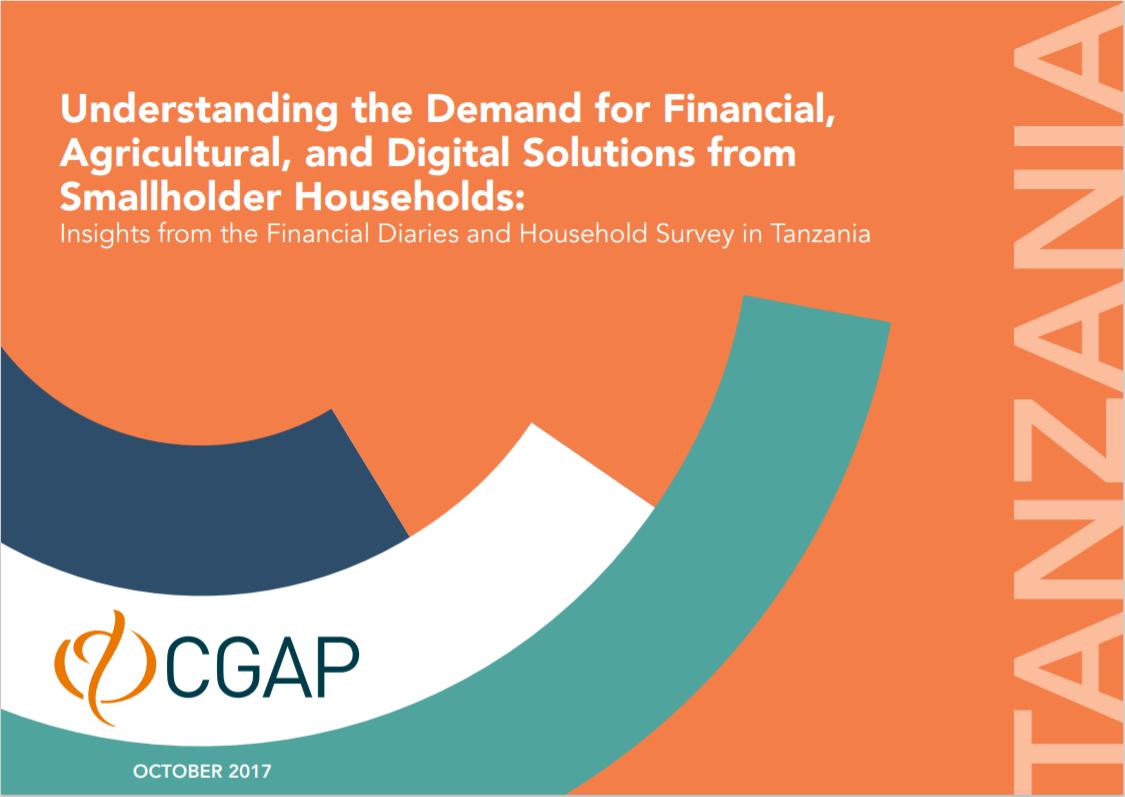 CGAP_Insights From Smallholder Household Survey Tanzania Cover
