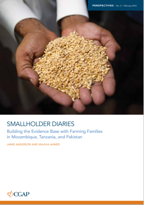 CGAP_Smallholder Diaries Cover