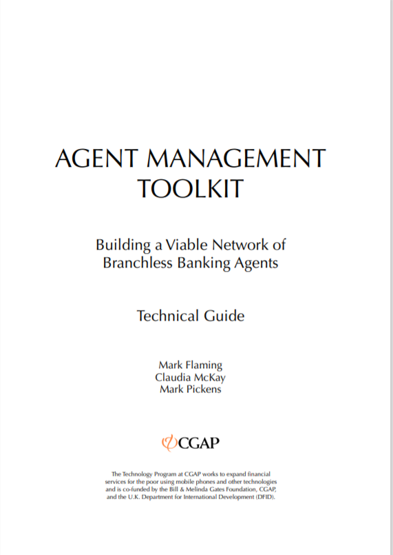CGAP_Technical Guide Agent Management Toolkit Cover