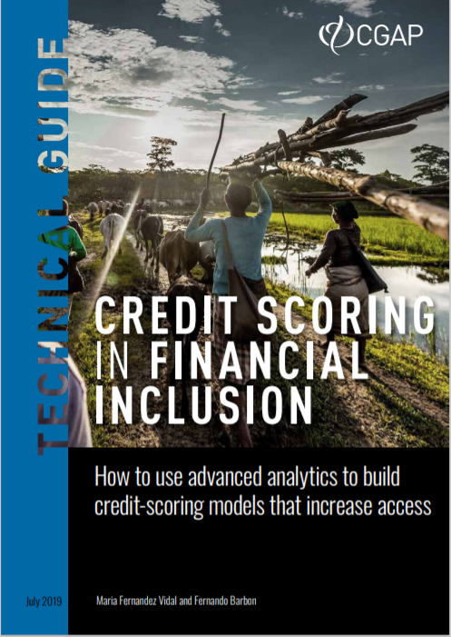 CGAP_Technical Guide Credit Scoring In Financial Inclusion Cover