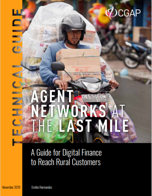 CGAP_Technical Guide To Agent Networks At The Last Mile Cover