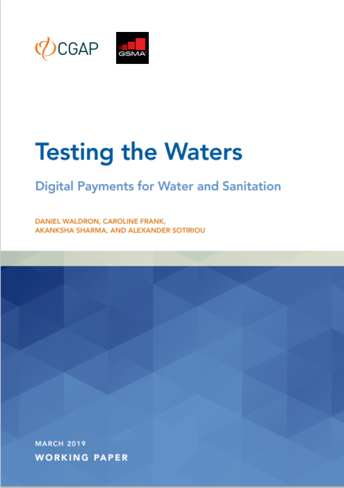 CGAP_Working Paper Testing The Waters Cover
