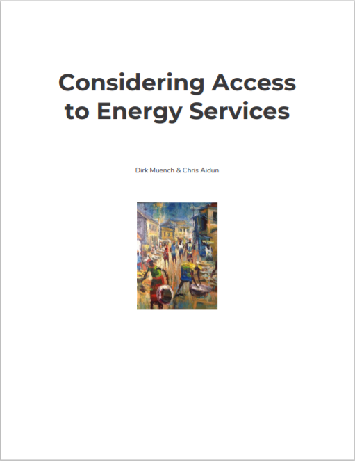 PE_Considering Access to Energy Services Cover