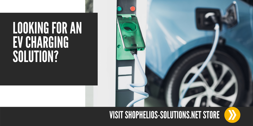 Electric Vehicle charging banner CTA