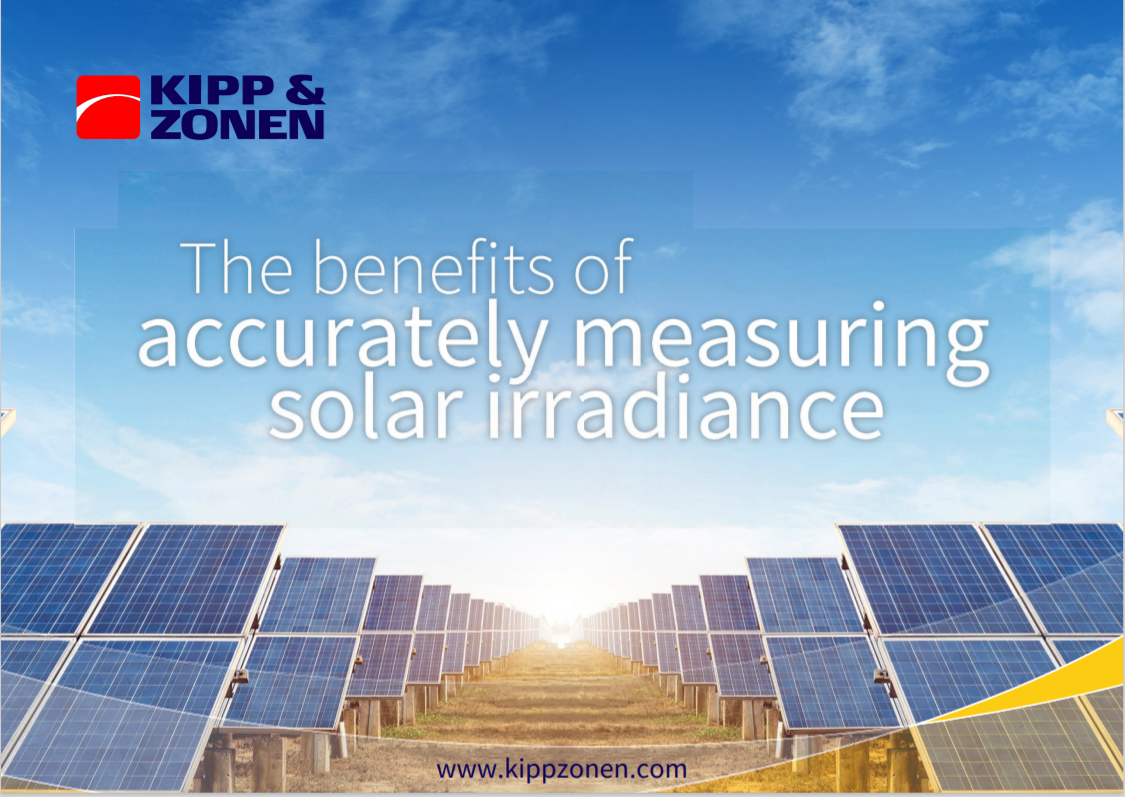 KIPP AND ZONEN_Benefits of Measuring Solar Irradiance Cover