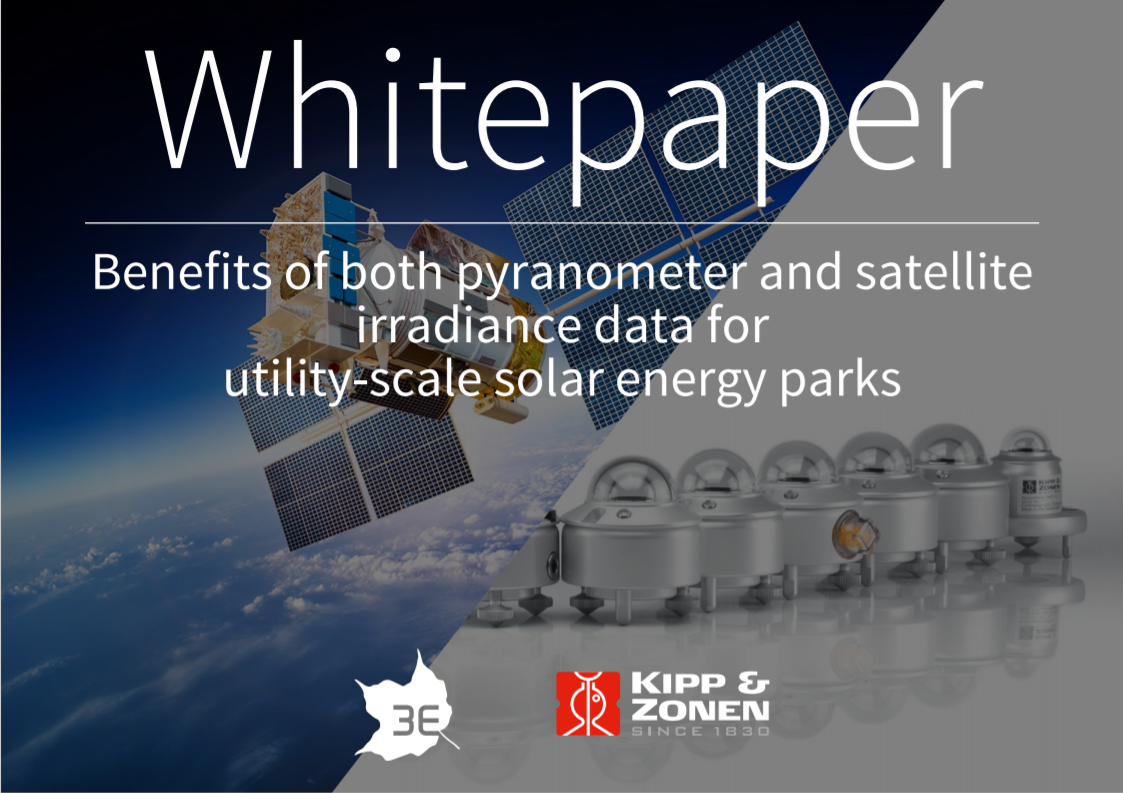 KIPP AND ZONEN_Benefits of Pyranometer and satellite derived solar data Cover