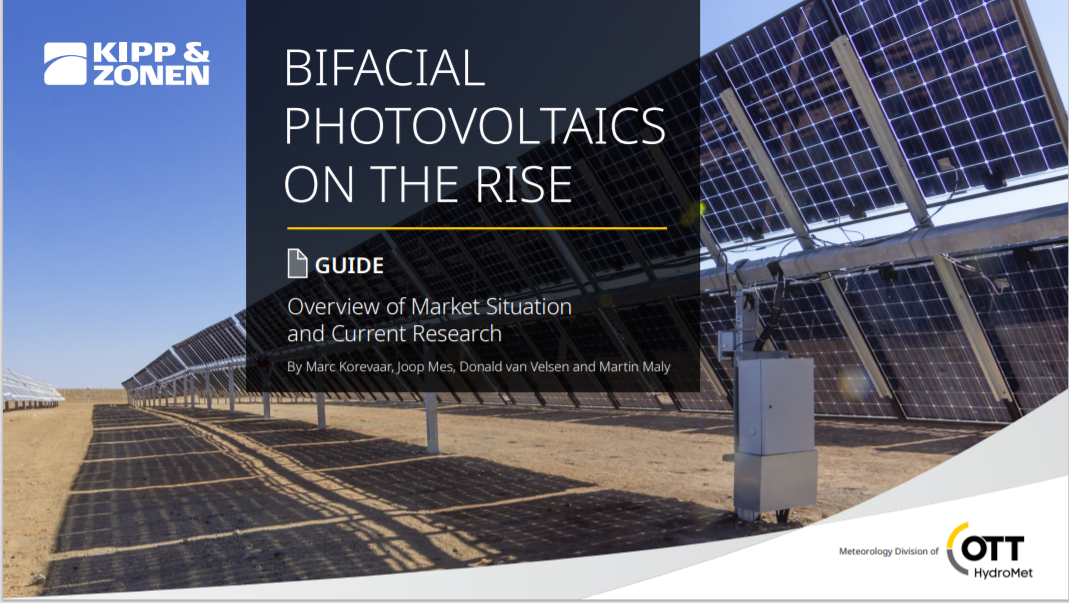 KIPP AND ZONEN_Bifacial Photovoltaics on the Rise Cover