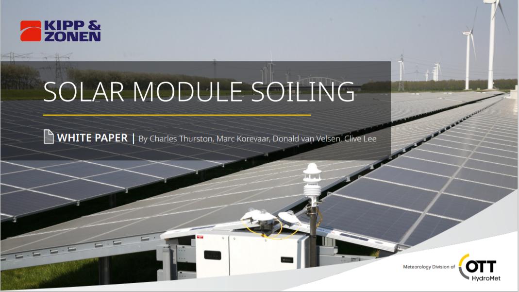 KIPP AND ZONEN_Solar Module Soiling Cover