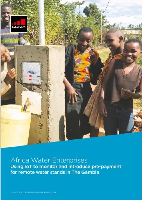 M4DU Africa Water Enterprises Gambia Cover