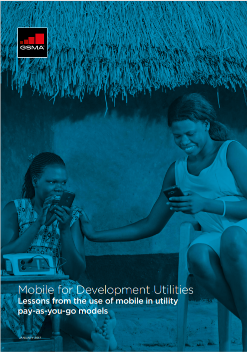 M4DU Lessons from the use of mobile in utility PAYG models Cover