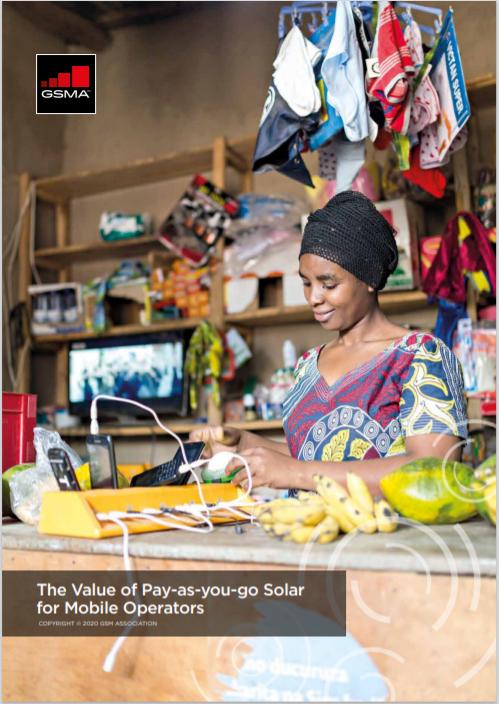M4DU The Value of PAYG Solar for Mobile Operators Cover