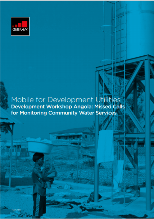 M4DU Workshop Angola-Missed Calls for Monitoring Community Water Services Cover